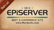 <strong>Murdochs.com was selected as the EPiServer Best Commerce Site of the Year in 2013.</strong>