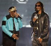 <strong>Snoop Lion at the BET Awards with P. Diddy.</strong>