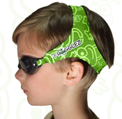 <strong>Green Frogglez Goggles</strong>