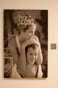 <strong>The exhibition reveals how Princess Grace pictured here with her son Prince Albert on holiday in Montego Bay, Jamaica in March, 1967, experienced some of her happiest years as a young mother.</strong>