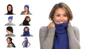 <strong>The Toobie can be worn in over nine ways including, neck warmer, hat, hood, scarf & balaclava</strong>