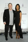 <strong>Harvey Weinstein and Zoe Zoldana</strong>