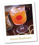 <strong>Sunset Blvd. Specialty Cocktail</strong>