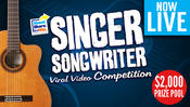 <strong>Shoot.Share.Win's Singer Songwriter Viral Video Challenge</strong>