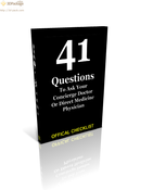 <strong>The 41 Questions To Ask Your Concierge Medicine or Next DPC Doctor</strong>