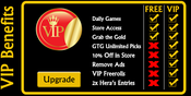 <strong>VIP members receive benefits such as 10% off in the Draft Gods store, exclusive freerolls, VIP support & treatment, and extra entries in monthly tournaments.</strong>