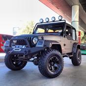 <strong>This striking 2000 Jeep TJ, fitted with GT Radial Adventuro M/T tires (size 33x12.50R15 LT 108Q), will appear at numerous events in 2014.</strong>