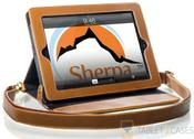 Sherpa Magnetic Apple iPad 2/3/4 Folio w/ Shoulder Strap