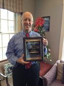 <strong>Dr. Ralph Reilly With The Talk Of The Town Customer Satisfaction Award</strong>
