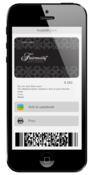 <strong>The Fairmont Hotels & Resorts eGift Card on a phone</strong>