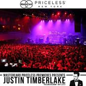 <strong>The crowd anxiously awaiting the beginning of the private MasterCard Priceless Premieres Justin Timberlake concert at Roseland Ballroom.</strong>