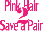 <strong>Pink Hair 2 Save a Pair Logo</strong>