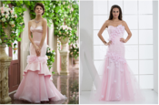 <strong>pink wedding gowns</strong>