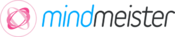 <strong>MindMeister's revised logo in line with the new user interface design</strong>
