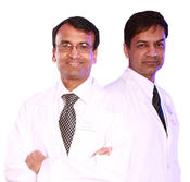 <strong>Jay Gonchigar, MD and Majid H. Ghauri, MD head the new Leesburg Virginia location of Newbridge Spine & Pain Center</strong>