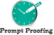 Prompt Proofing logo