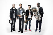 <strong>Jon Batiste & Stay Human (photo credit: Peter Lueders)</strong>