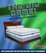 <strong>Sleep Country USA offers fans the chance to rest easy after Sunday's Big Game, giving away a mattress for each Hawks touchdown.</strong>