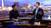 <strong>Dean Graziosi discusses real estate investment on Fox 5 News in Las Vegas.</strong>