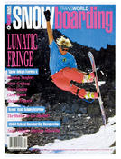 Damian Sanders, Transworld Snowboarding, March 1991.