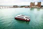 <strong>As the only dining & entertainment yacht in NW Fla, the SOLARIS in Destin is a 125' yacht w/ three indoor & outdoor decks. Cruising year-round for weekly dining cruises & Destin Florida weddings.</strong>