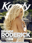 <strong>Brande Roderick Kandy Magazine Cover</strong>