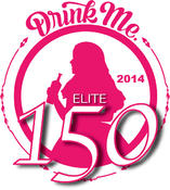 <strong>Drink Me Magazine 2014 Elite 150 Pink Medal</strong>