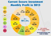 <strong>Monthly Profit's For 2013</strong>