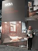 <strong>Jackson Design and Remodeling senior designer Sol Quintana Wagoner took home the top award for bathrooms at the 2014 NKBA awards.</strong>