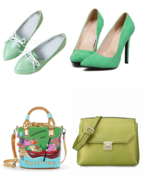 <strong>bags and shoes for St. Patrick's Day</strong>