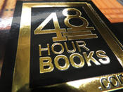 <strong>Foil Stamped Book Covers for Self-Publishers. Only at 48 Hour Books.</strong>