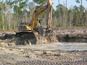 <strong>EHC, Inc. crews providing earthwork and infrastructure services for a single-family and multi-family community in Fort Myers. The 260-acre community is planned to feature lakes and numerous amenities.</strong>