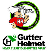 <strong>Gutter Helmet by Harry Helmet</strong>