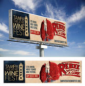 <strong>eNox Media won a Silver ADDY in the Public Service Out-of-Home category for their outdoor (billboard) designs for the Tampa Theater Winefest - Rebel without a Cork.</strong>