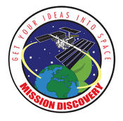<strong>Mission Discovery mission patch. Image Credit: ISSET</strong>