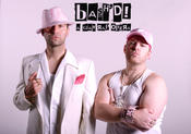 <strong>Nathan Cuckow as &quot;Feminem&quot; and Chris Craddock as &quot;T-Bag&quot; from BASH'd! A Gay Rap Opera</strong>
