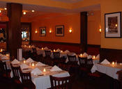 <strong>Talia's: Manhattan kosher romantic restaurant NYC - main dining area</strong>