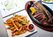<strong>Talia's Signature Dish: Glatt Kosher Prime Rib & Homemade French Fries Served in Kosher Restaurant, NYC</strong>
