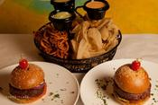 <strong>Talia's: Burgers Are Available With Kosher For Passover Buns.</strong>