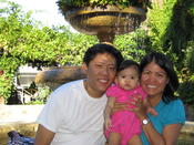 <strong>Joseph and Maria Barcega are happy to see their daughter Gianna growing up in the master-planned community of Fair Oaks Ranch� in Santa Clarita, California.</strong>