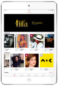 <strong>Tap the stars to create a customized celebrity stream of social media posts, and delve into each of the six industries for a complete listing of stars covered on the Socialgiri platform.</strong>