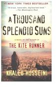 <strong>A Thousand Splendid Suns by Khaled Hosseini</strong>