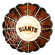 <strong>Iron Stop MLB Giants Wind Spinner</strong>