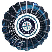 <strong>Iron Stop MLB Mariners Wind Spinner</strong>