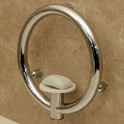 <strong>Invisia Soap Dish with Integrated Support Rail</strong>