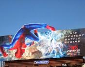 <strong>The Amazing Spiderman 2 billboard</strong>