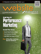 The cover of the May 2014 issue of Website Magazine