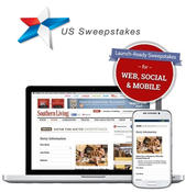 <strong>US Sweepstakes new low-cost Self-Serve Sweepstakes product allows customers to build their own fully-branded sweepstakes online.</strong>