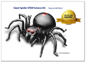 <strong>Giant Spider STEM educational kit is a popular choice... This spider runs on salt water!</strong>