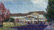 <strong>Rendering of Carmel Senior Living, now under construction</strong>